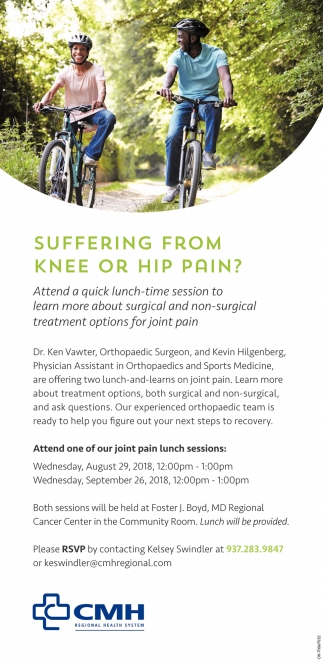 Knee or Hip Pain?