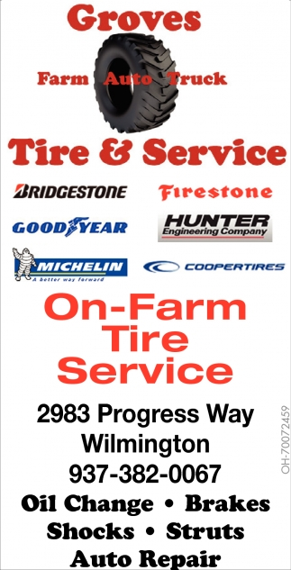 On-Farm Tire Service