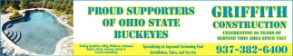 Proud Supporters of Ohio State Buckeyes