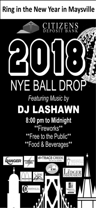 2018 NYE Ball Drop