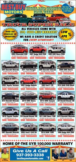 Truck Super Sale