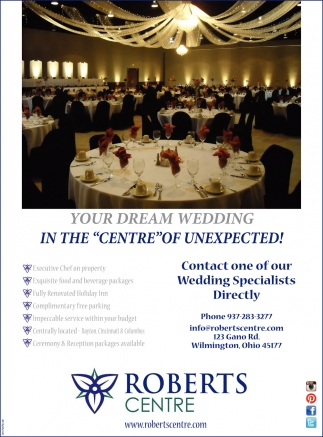 Contact one of our Wedding Specialists Directly
