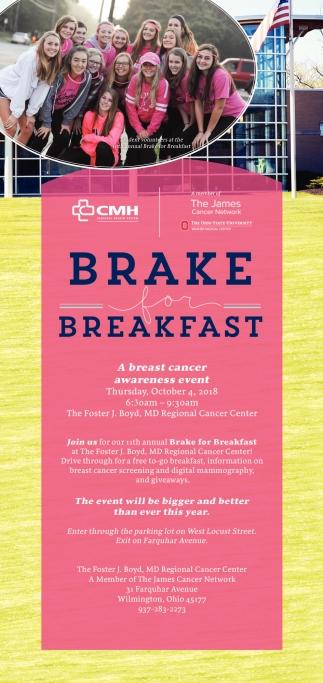 Brake Breakfast