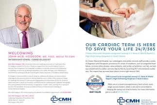 John McB. Hodgson, MD, FACC, MSCAI to CMH