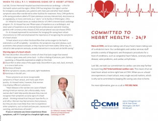 Committed to Heart Health - 24/7
