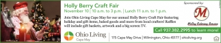 Holly Berry Craft Fair