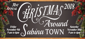 31st Annual Christmas Around Sabina Town