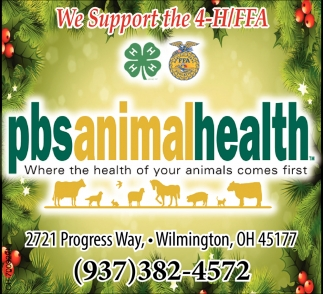 We Support the 4-H/FFA