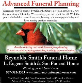 Advanced Funeral Planning