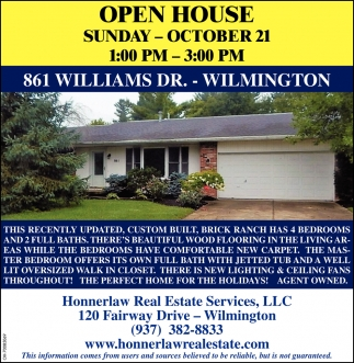 861 Williams Dr. - Wilmington