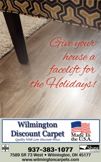 Give your house a facelift for the Holidays