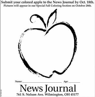 Submit your colored apple to the News Journal