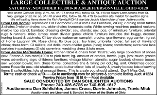 Large Collectible & Antique Auction
