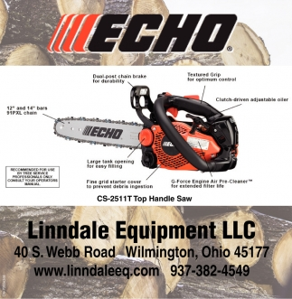 Echo, Linndale Equipment, Wilmington, OH