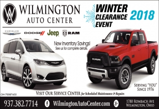 Winter Clearance Event 2018