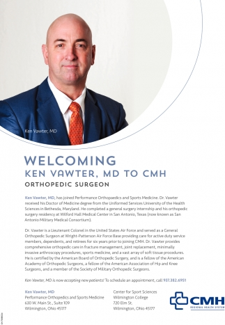 Ken Vawter, MD to CMH