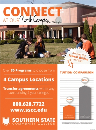 Connect at our North Campus in Wilmington