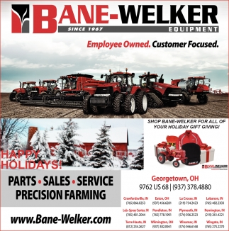 Parts, Sales, Service, Precision Farming