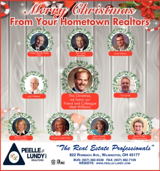 Merry Christmas from your Hometown Realtors