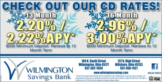 Check out our CD rates
