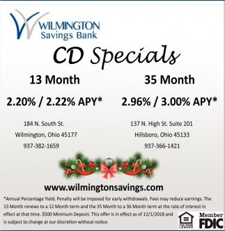 CD Specials