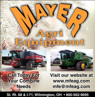 Call today for your combine needs