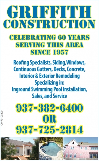 Roofing, Siding, Windows, Gutters, Decks, Concrete