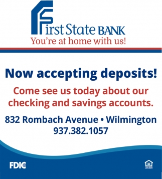 Now accepting deposits!