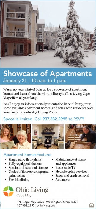 Showcase of Apartments