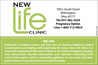 Dedicated to helping women and men who are facing pregnancy related circumstances and dealing with significant life issues