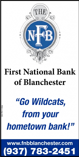 Go Wildcats, form your hometown bank