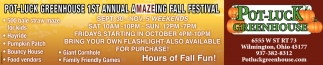 1st Annual aMAZEing Fall Festival