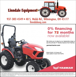 0% financing for 72 months now available