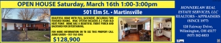 Open House - 501 Elm St, Martinsville