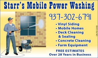 Concrete Cleaning, Farm Equipment, Vinyl Siding