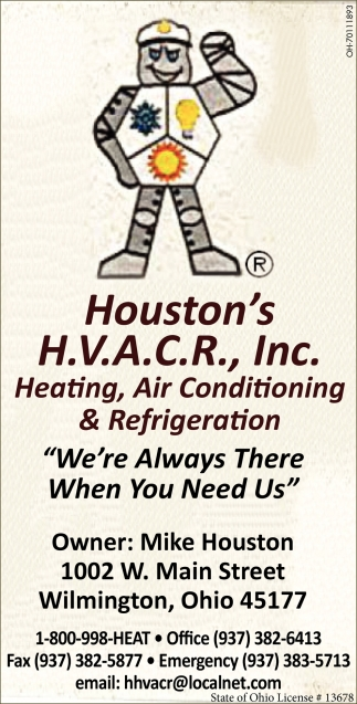 Heating, Air Conditioning & Refrigeration