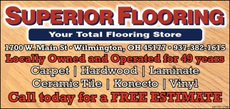 Your Total Flooring Store