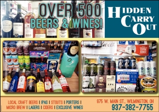 Over 500 Beers and Wines!