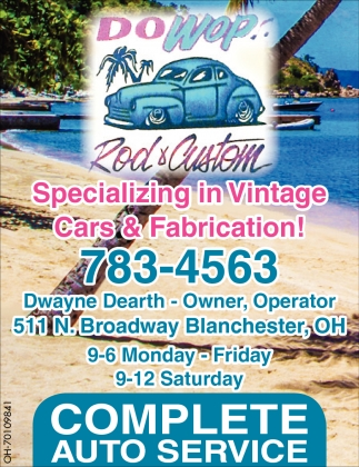 Specializing in Vintage Cars & Fabrication