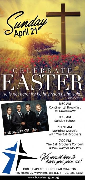 Celebrate Easter April 21