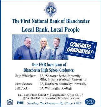 Congrats Graduates!