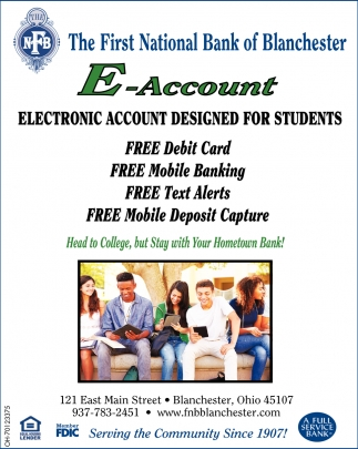 E-Account designed for Students