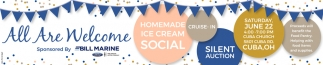 Homedade Ice Cream Social