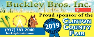 Proud sponsor of the Clinton County Fair