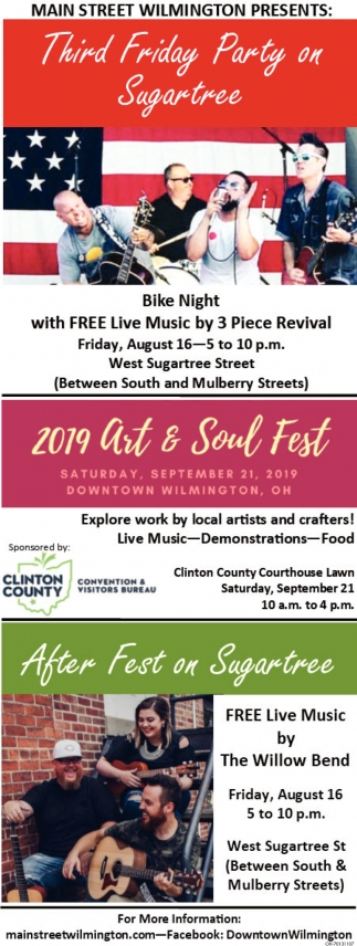 Third Friday Party on Sugartree / 2019 Art & Soul Fest