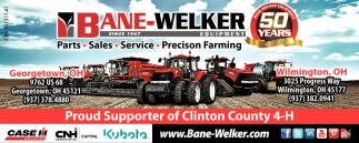Proud Supporter of Clinton County 4-H