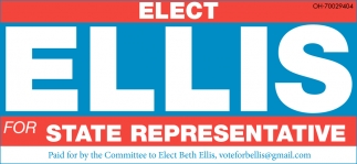 Elect Ellis for State Representative