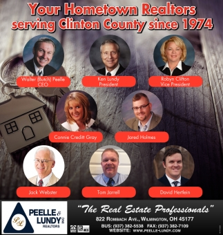 Your Hometown Realtors serving Clinton County since 1974
