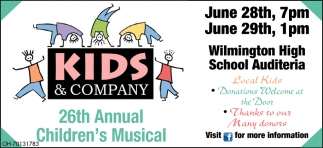 26th Annual Children's Musical