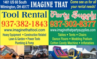 Tool Rental and Party Supply
